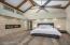 Beautiful Hardwood Floors & Modern Fireplace In Master Suite