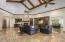 Vaulted Ceilings & Built In Cabinetry In The Spacious Great Room/Family Room