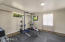 Spacious Home Gym With Option To Convert To Third Car Garage