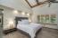 Stunning Master Suite W/ Soaring Ceilings W/ Beams
