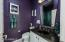 Remodeled bathroom with beautiful glass tiles shower has never been used.