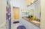 Hallway FULL Bathroom with double vanities