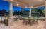 BBQ area, under patio entertaining