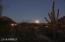 moonrise looking east