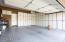 Garage with Cabinet Storage!