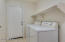 Laundry room/washer and dryer stay with home