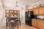 Kitchen breakfast nook and pantry