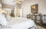 The Master Suite is more than 600 SqFt, with a 24' by 15' main bedroom, and 16' x 18' bathroom/closet