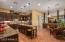 Huge gourmet kitchen will be the chef's delight.