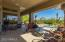 Huge covered space with beautiful views of your natural desert backyard.