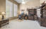 Room For The Largest Of Office Furniture Plus Full View of the Front Entry!