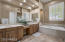 Large Walk-In Shower, Soaker Tub For 2, Double Vanity, Make-Up Area, and Art Niches