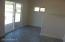 AZ room tiled floor and patio doors