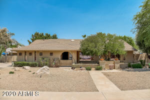 Beautifully upgraded home in the heart of 85254 has a spectacular backyard oasis