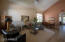 large open living/dining from entry-