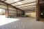 80x20 shaving storage inside indoor arena