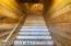 Stairs to caretaker's apartment