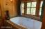 King suite bathtub