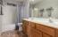 Tub/Shower Combo, Dual Sinks
