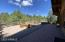Huge patio backing to National Forest