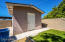 Storage shed with electricity