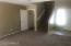 Family Room with Large Under Stair Closet