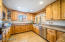 Efficient Kitchen, Custom Cabinetry & Pantry