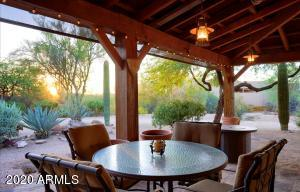 600 sft. covered patio. Remote /auto shades, custom lighting, natural stone