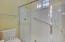 Jack & jill bathroom - shower & toilet room