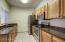 Granite, stainless steel appliances