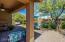Lovely, private backyard