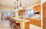 Kitchen Island, GRANITE; Eating Bar + Separate Table Area (Morning Room) + Formal Dining Room