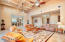 Coffered Ceiling - Great Room Family Room; Open & Spacious