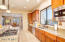 Spacious Gourmet Chef Kitchen Flows Into Morning Room Dine-In Area
