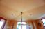 Peaked Designer Groin Ceiling ; Bright Sunny Breakfast/Morning Room - Windows 3 Sides