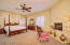 Huge Master Suite With Plenty of Room For All Your Furnishing; French Doors to Patio