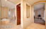 Spacious Split Master Bedroom Suite With Separate Facilities; Fireplace; French Doors To large Patio