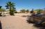 Fenced, Auto-irrigate Backyard with garden area. Spacious for your choice of ad-ons and toys!