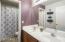 Hall bathroom with double sinks!!