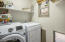 Laundry room and storage!