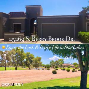 25269 S BERRY BROOK Drive, Sun Lakes, AZ 85248