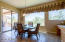 Large dining area could seat up to 10!