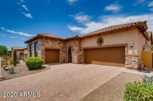 Vintage Front Elevation presents you with beautiful Stone-front Entrance and Courtyard