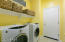 Laundry Room with Washer and Dryer Included!