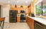 Kitchen with NEW Charcoal Stainless Appliances