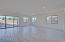 Large great room with expanded slider