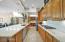 New refrigerator, dishwasher and wine refrigerator, 5 burner gas cooktop