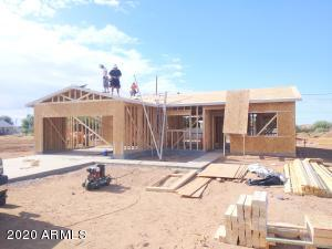 Actual home under construction 5653 E Red Bird week of July 24th 2020