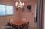 Formal Dining Room in addition to Table in Kitchen & Breakfast Bar