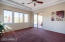 Private access to backyard from master. Elegant trayed ceiling.